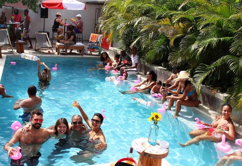 La Lorraine Boutique Hotel, Petionville, Outdoor Pool