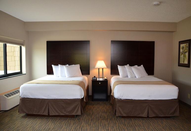 Qube HOTEL, Polk City, Rodinné apartmá (2 Queen Beds with 1 Sofa Bed), Pokoj