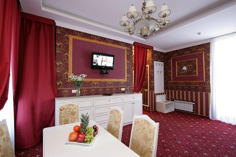 Luxury-Zimmer - Wohnbereich