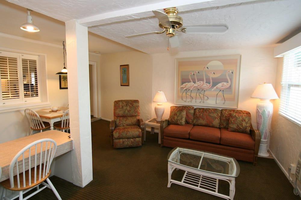Large 1 Bedroom, Kitchen, Patio - 客廳