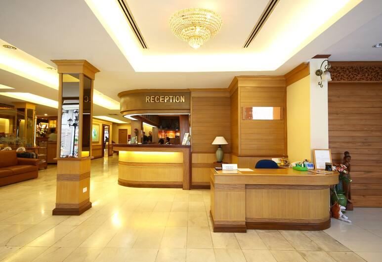 Wall Street Inn, Bangkok, Receptie