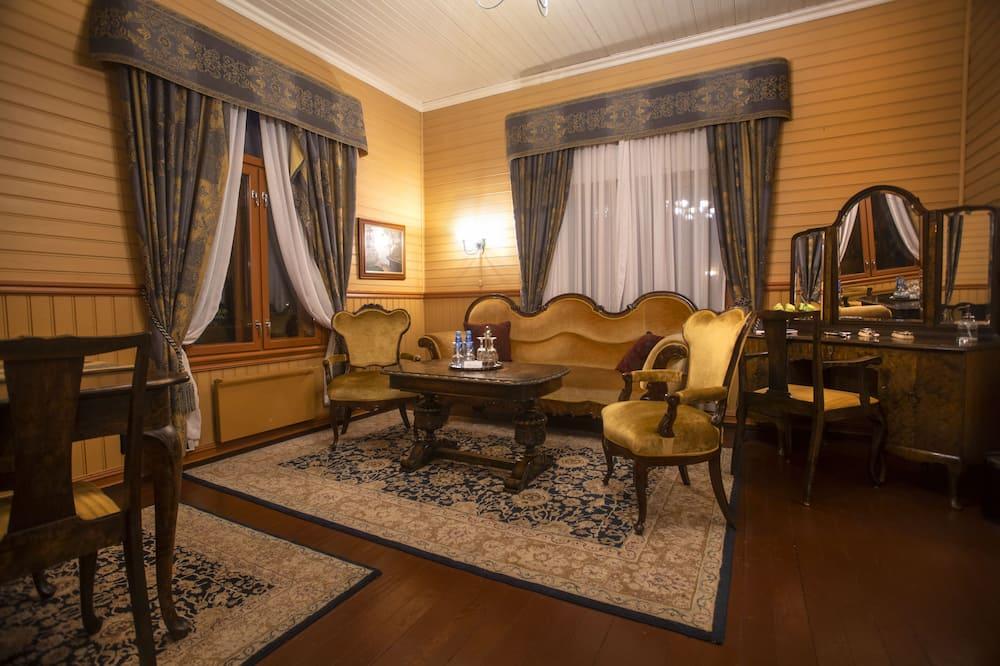 Historic Suite - Lake View - No Bathroom - Vardagsrum