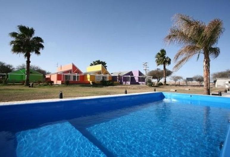 卡巴納斯濱海之家酒店, Termas de Rio Hondo, 室外泳池