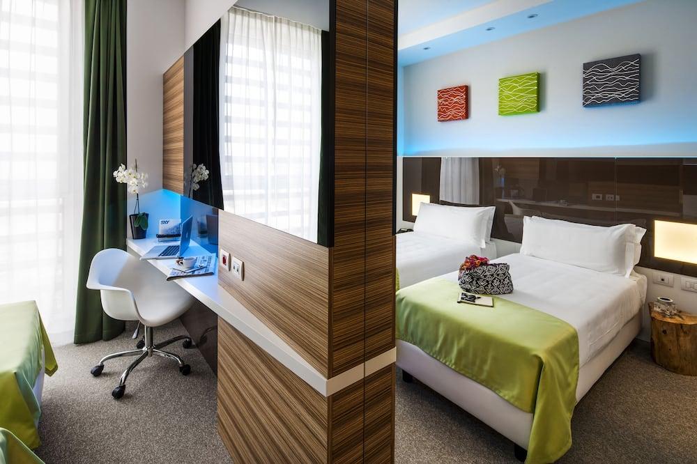 스탠다드룸, 싱글침대 2개 - 거실 공간