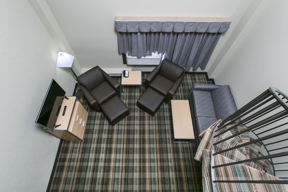 ลอฟท์, เตียงคิงไซส์ 1 เตียง, ปลอดบุหรี่ (Loft Suite) - พื้นที่นั่งเล่น