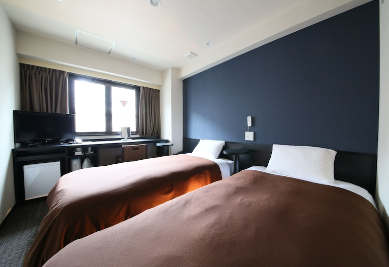 Urbain Tokyo Haneda Kamata, Tokyo, Twin Room, Smoking (Room Size 15m² / Bed Size 100cm x 2), Guest Room