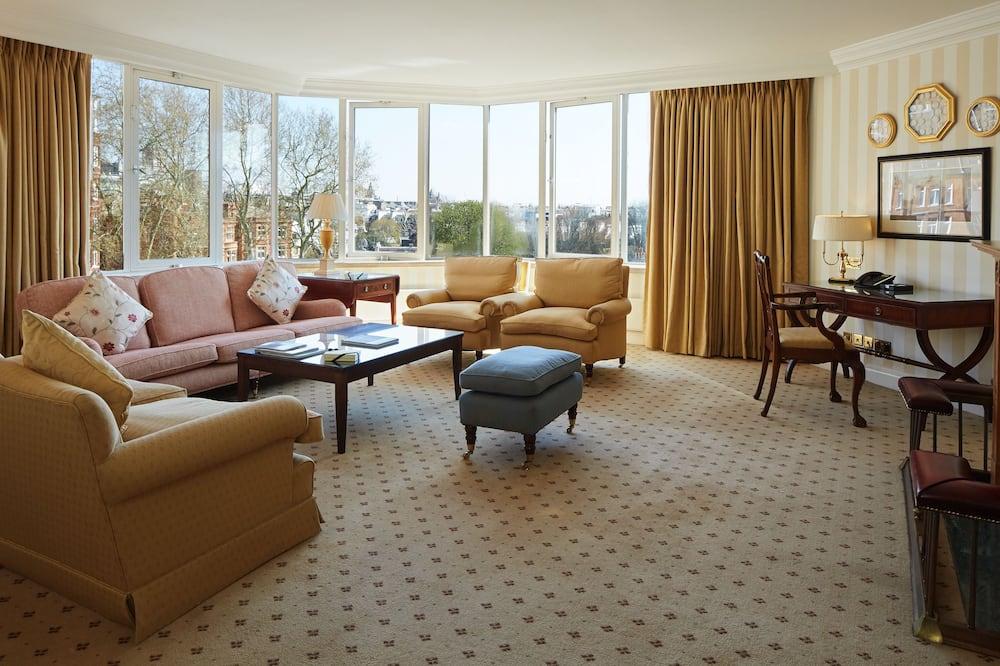 Appartement Luxe, 3 chambres - Coin séjour