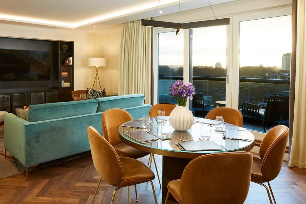 高級公寓, 3 間臥室 (floor 0-3) - 客廳