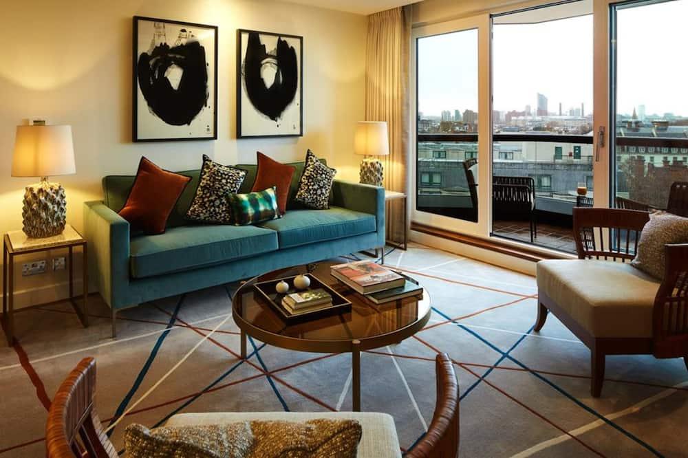 奢華公寓, 2 間臥室 (floor 4-6) - 客廳
