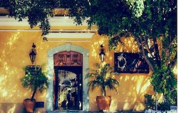 Oaxaca bölgesindeki Los Pilares Hotel resmi