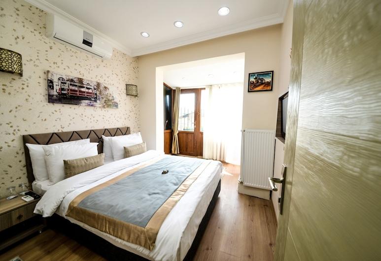 Ottomarin Hotel Old City, Istanbul, Phòng đôi hoặc 2 giường đơn Tiêu chuẩn, Không hút thuốc, Quang cảnh thành phố, Khu phòng khách