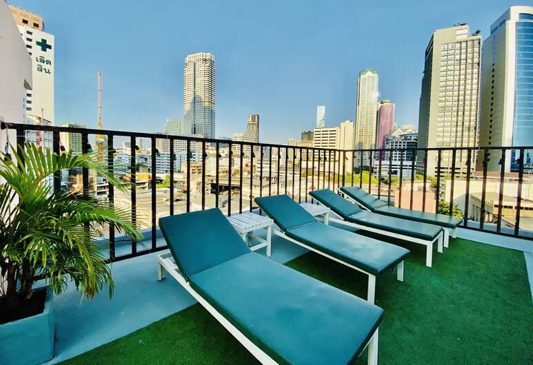 Pas Cher Hotel, Bangkok, Bangkok, Pool auf dem Dach