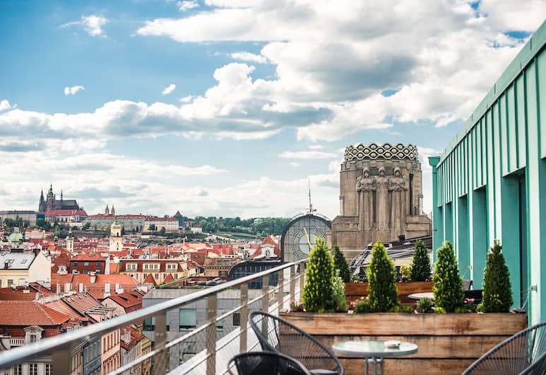 Wenceslas Square Terraces, Prague