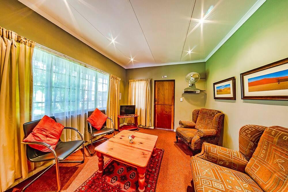 อพาร์ทเมนท์, 1 ห้องนอน - พื้นที่นั่งเล่น