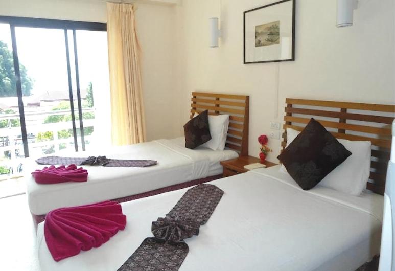 Aonang Andaman Resort, Krabi, Standaard kamer, gemeenschappelijke badkamer, Balkon