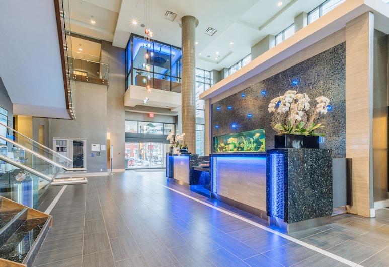 Hotel Blu Vancouver, Vancouver, Rezeption