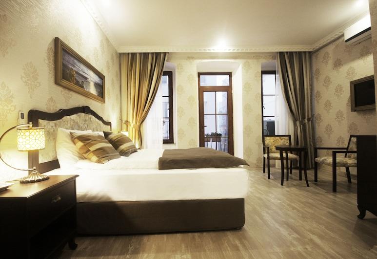 Taksim House Hotel, Istanbul, Phòng đôi hoặc 2 giường đơn Deluxe, 1 giường cỡ king, Quang cảnh thành phố, Phòng