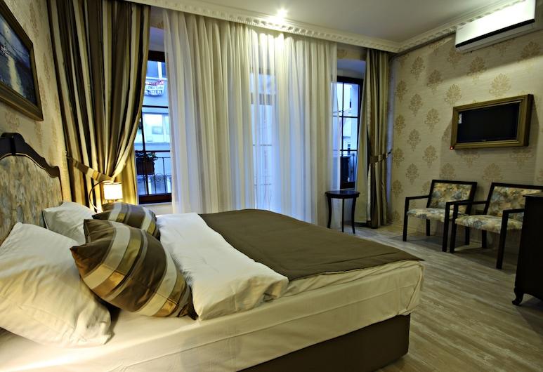 Taksim House Hotel, İstanbul, Deluxe Tek Büyük veya İki Ayrı Yataklı Oda, Oda