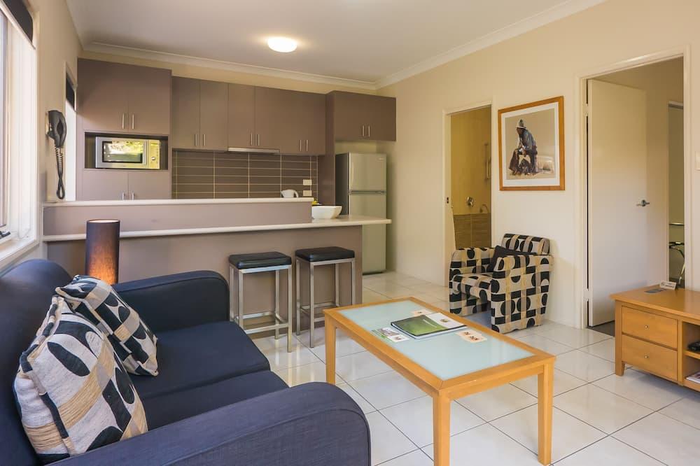 Leilighet – standard, 1 soverom, ikke-røyk, kjøkken (Self Contained Apartment) - Oppholdsområde
