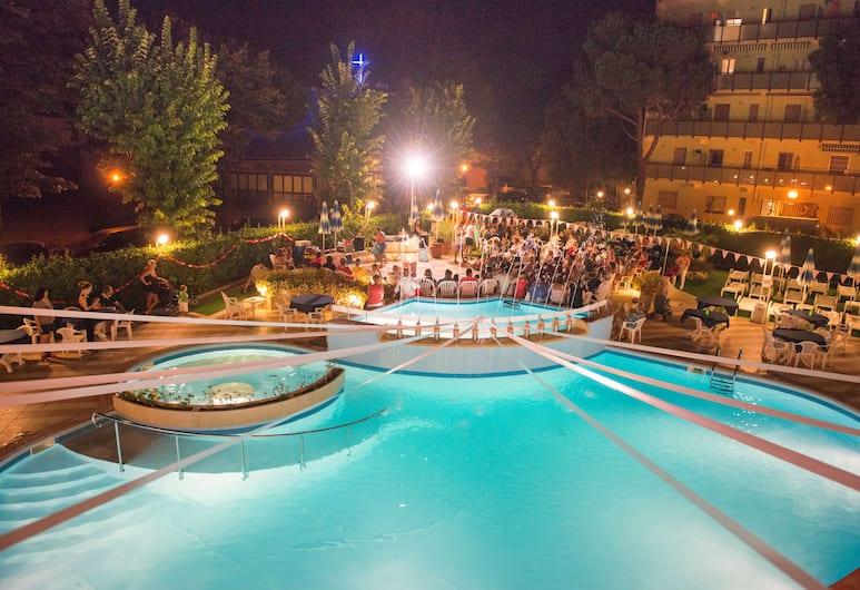 Hotel Smeraldo, Cesenatico, Outdoor Pool