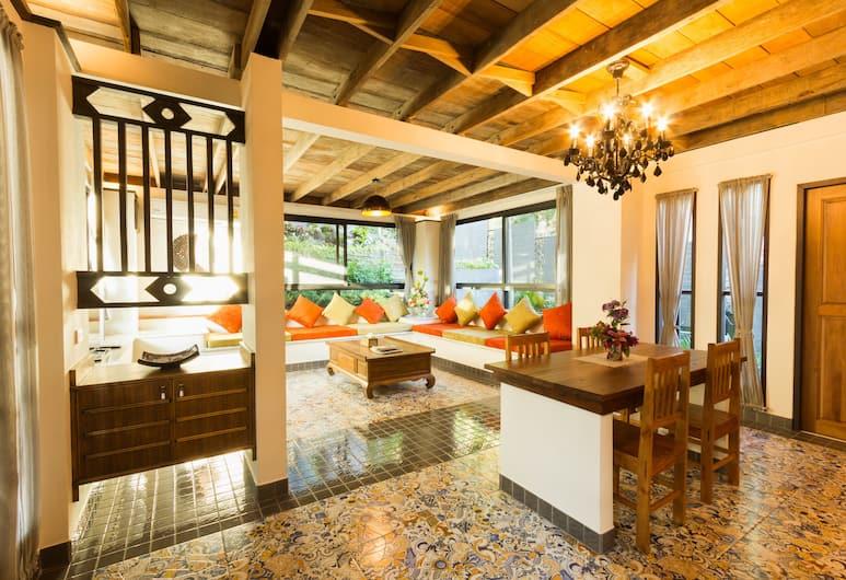 카타 트란킬 빌라, 카론, 패밀리 쿼드룸, 침실 2개, 간이주방, 마당, 거실 공간