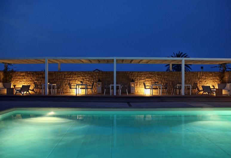 Ammos Hotel, Skiros, Basen odkryty