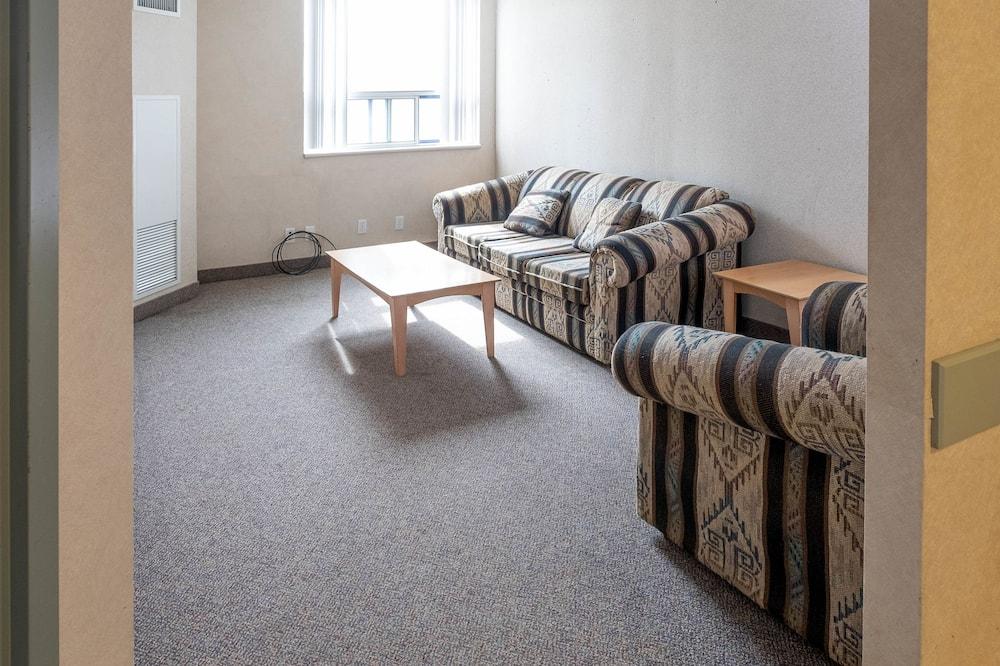 Люкс, 1 двуспальная кровать, мини-кухня - Зона гостиной