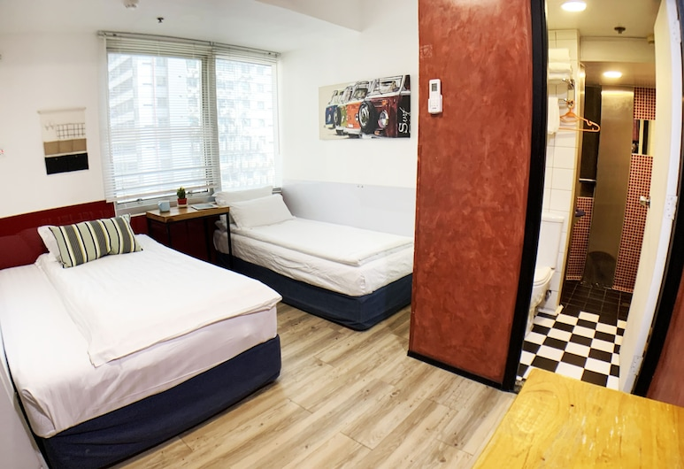 悅思青年旅舍@油麻地, 九龍, 標準三人房, 客房景觀