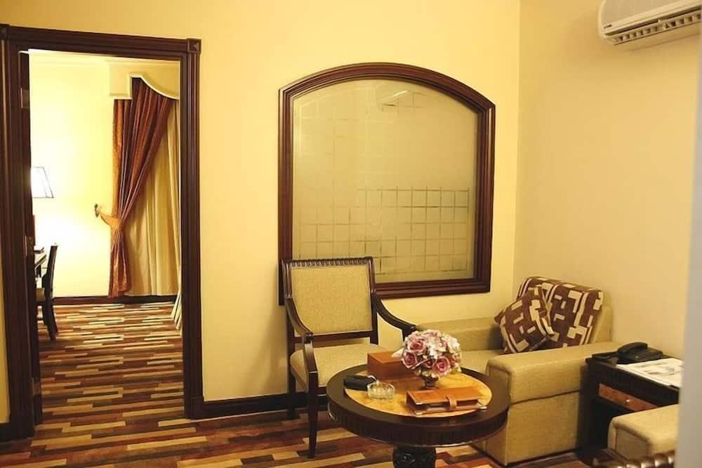 Standard Δίκλινο Δωμάτιο - Περιοχή καθιστικού