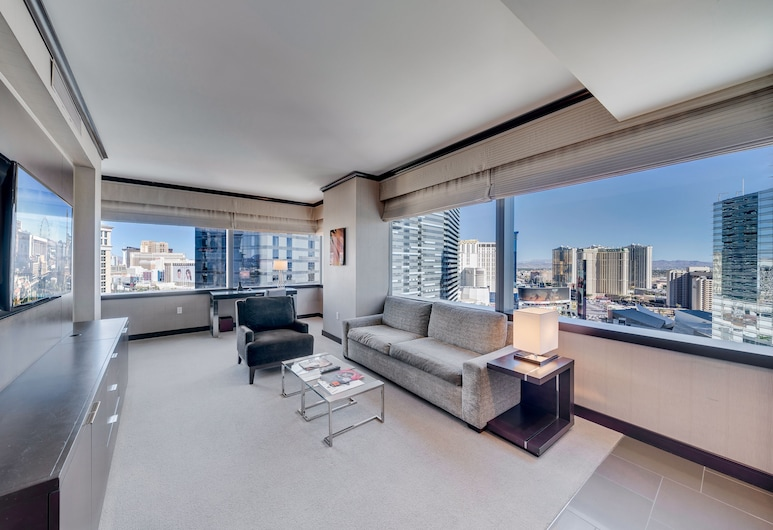 Jet Luxury at the Vdara Condo Hotel, Las Vegas, Vdara 1 bedroom, Guest Room