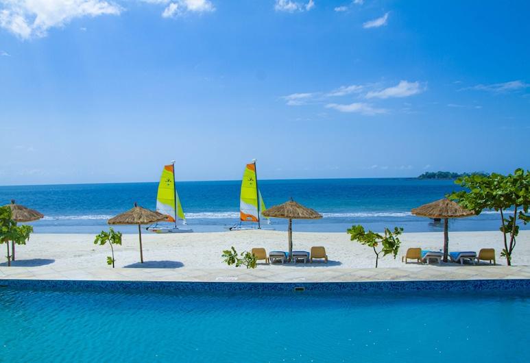 The Place Resort at Tokeh Beach, Freetown, Premier-suite - ved stranden, Strand-/havudsigt