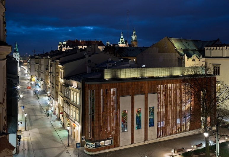 Aparthotel Grodzka 21, Krakow, Hotellets front – kveld/natt