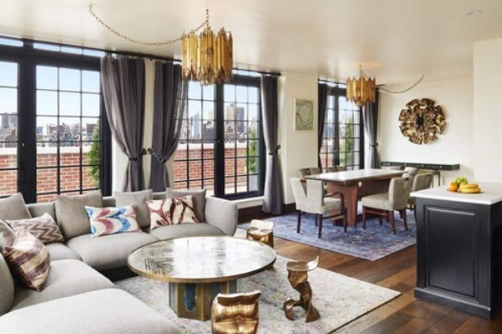 Penthouse (Ludlow) - Sala de estar