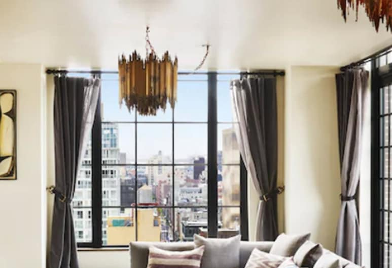The Ludlow Hotel, New York, Penthouse (Ludlow), Wohnbereich