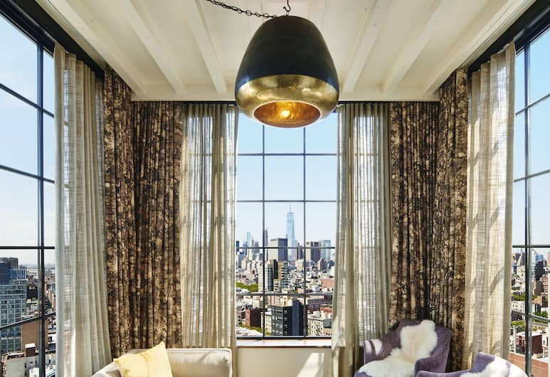 The Ludlow Hotel, New York, Loft (Skybox), Guest Room