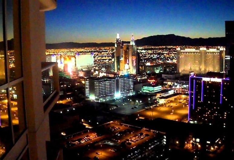 Jet Luxury Resorts @ The Signature Condo Hotel, Las Vegas, Luxury Studio Suite, City View, Balkoni