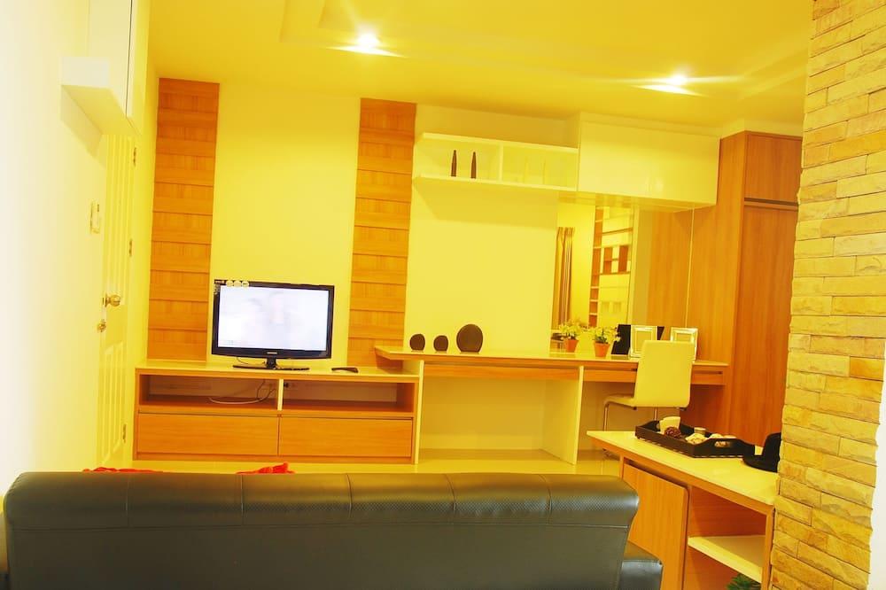 Familien-Vierbettzimmer, 2Schlafzimmer - Wohnzimmer