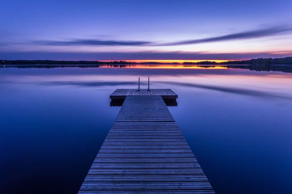 Pemandangan Danau