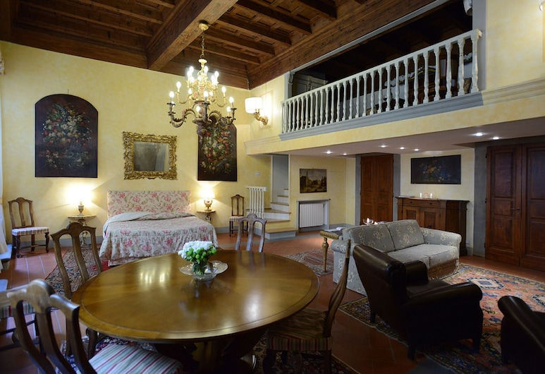 Corte dei Neri, Florence, Deluxe Double Room, City View, Guest Room