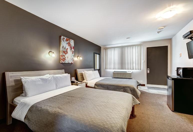 Auberge St.Jacques, מונטריאול, חדר סטנדרט, 2 מיטות זוגיות, ללא עישון, חדר אורחים