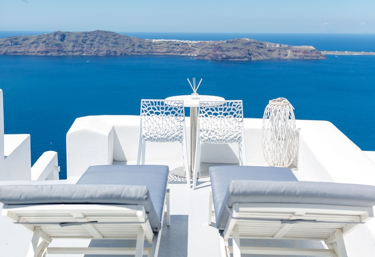 Dreaming View Suites, Santorini, Premium Suite, Jetted Tub (Indoor), Balcony