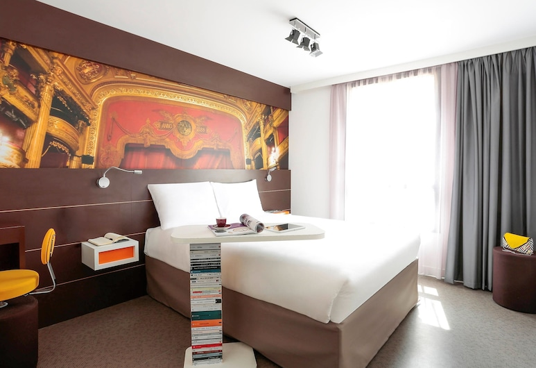 Hotel ibis Styles Montpellier Centre Comedie, Montpellier, Chambre Double Standard, 1 lit double, Chambre