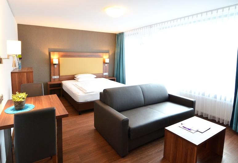 Neu Heidelberg - Guesthouse & Apartments, Heidelberg, Familienapartment, 2Schlafzimmer, Nichtraucher, Balkon (XL), Zimmer