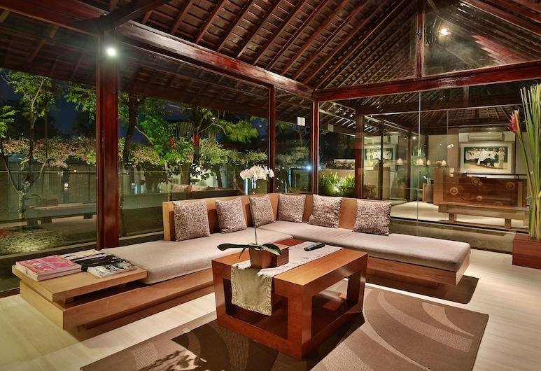 Ziva a Boutique Villa, Seminyak, Lounge do saguão