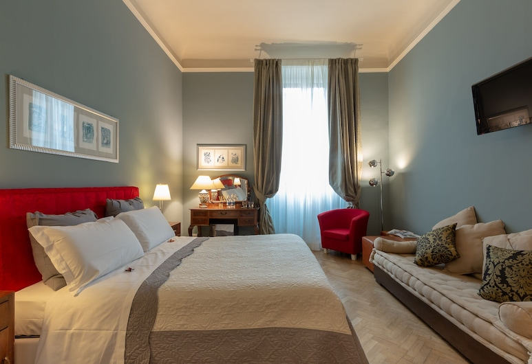 Opera Boutique B&B, Florence, Deluxe Double Room, Guest Room