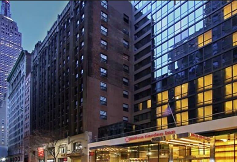 Hilton Garden Inn New York/Midtown Park Ave, Nova York, Fachada do hotel