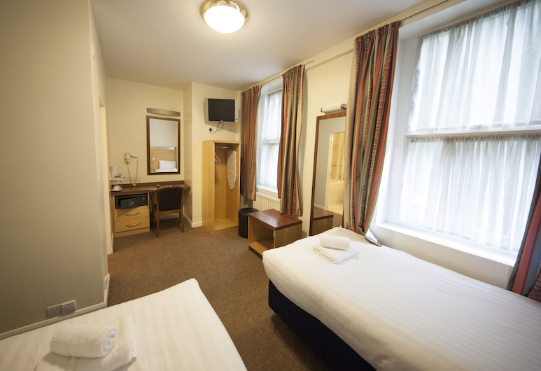 Belgrave Hotel, London, Twin Room, Guest Room View