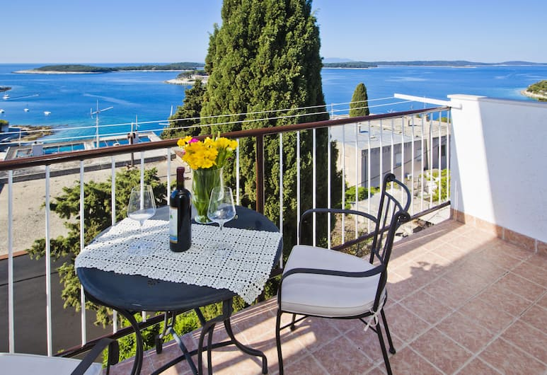 Villa Milton Hvar, Hvar, Superior apartman, balkon, pogled na more (for 4 persons), Soba za goste