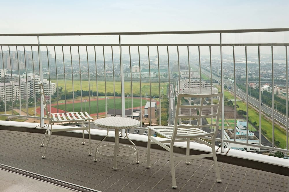 Corner Terrace Room for 1-3 person (Tower Building) - Balcony