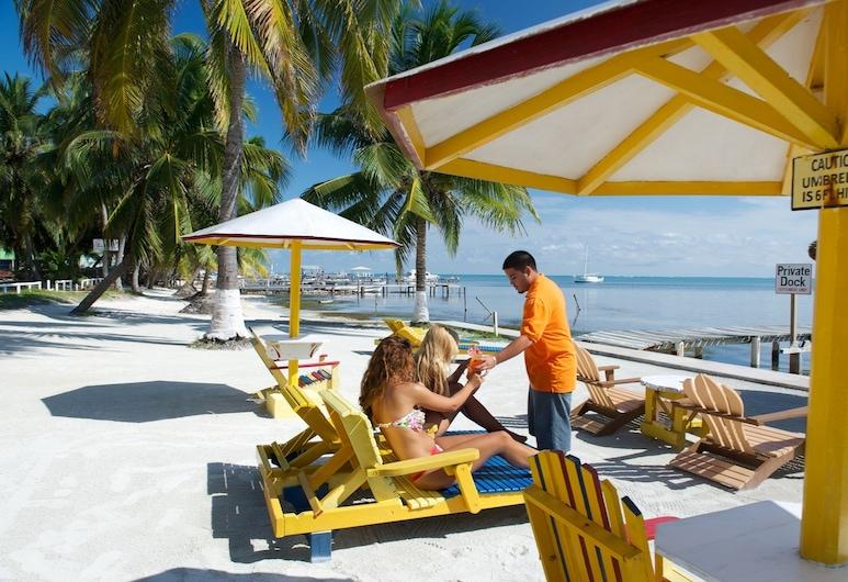 トロピカル パラダイス ホテル, キー カーカー, ビーチ